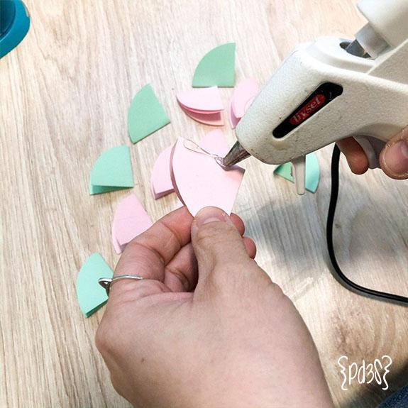 Par de 3 studio DIY Paraguas Papel