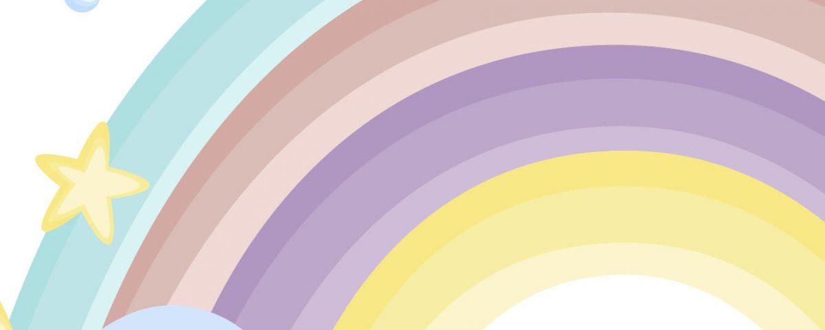 Par de 3 studio arcoiris