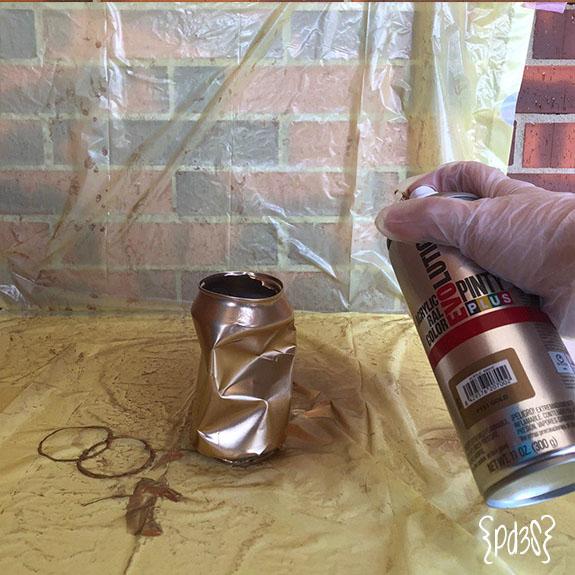 Par de 3 studio DIY latas