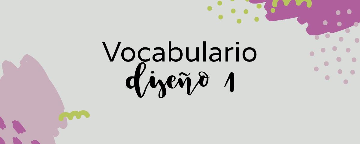 Par de 3 studio vocabulario diseño