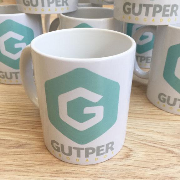 Par de 3 Studio tazas GUTPER
